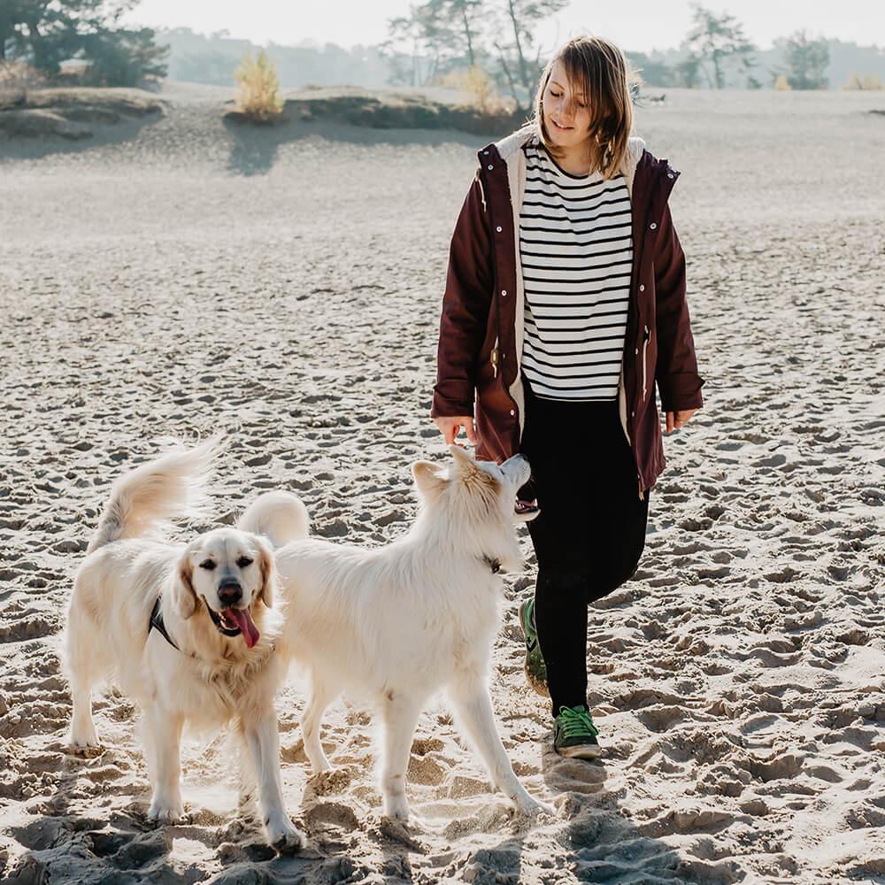 Online cursus: Ontspannen wandelen met je hond - Hondengedragscoach Lisse van de Groep